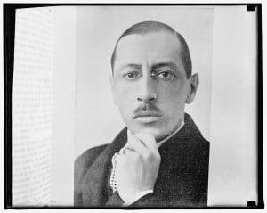 Le miracle de l'éloge funèbre de Stravinsky